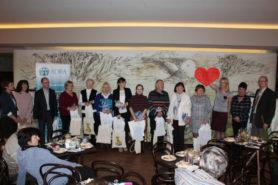 Setkání dobrovolníků v kavárně Avion v roce 2018